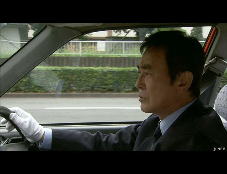 ドラマ「タクシードライバーの推理日誌」のメインビジュアル