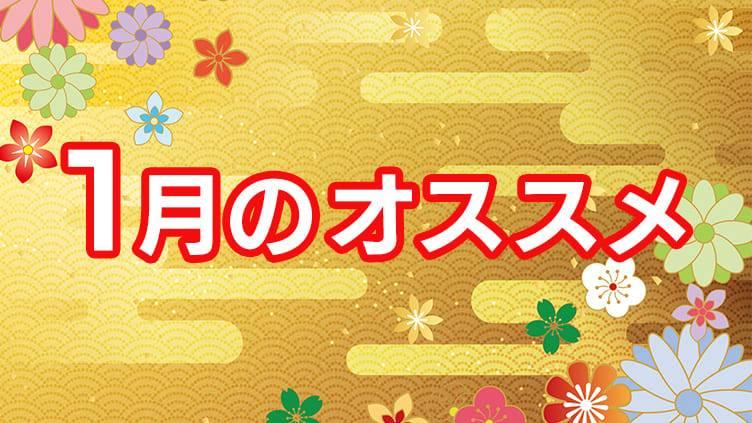 BS12 トゥエルビ 1月のオススメ番組はこちら!!のサムネイル