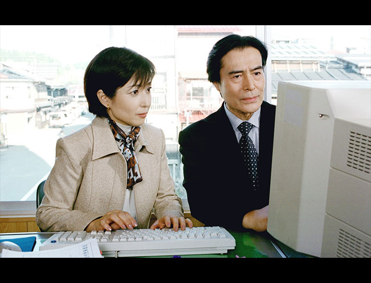 ドラマ「山村美紗サスペンス 殺意の果てに ~飛騨高山夫人絞殺事件~」のメインビジュアル